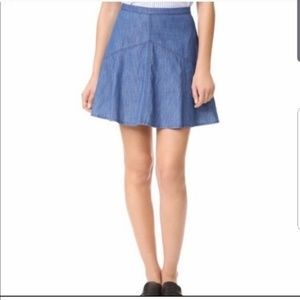 Madewell Piazza Jean Skirt Size 4